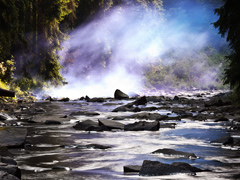 Ondrej Chmel Photography | Colourful Mist | Cold blue warm water, June